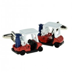 Golf Buggy Cufflinks