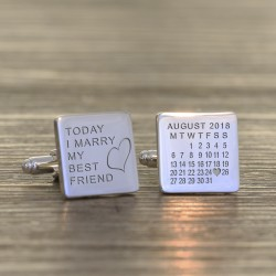 Best Friend Wedding Cufflinks