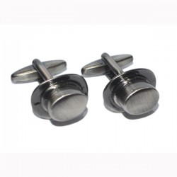Antique Style Top Hat Cufflinks