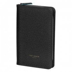 TED BAKER LONDON Black Brogue Travel Organiser
