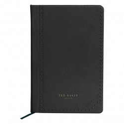Ted Baker Black Brogue Notebook
