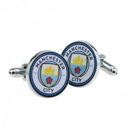 Manchester City Football Badge Cufflinks