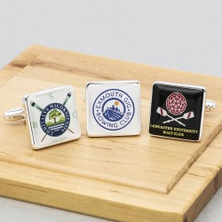 Rowing Club Cufflinks Personalised