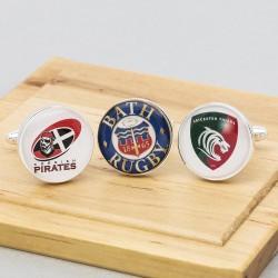 Rugby Club Cufflinks Personalised