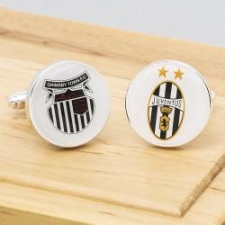Football Club Cufflinks Personalised