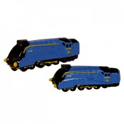 1938 Mallard Steam Train Cufflinks