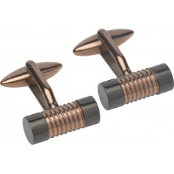 Brown and Black Cufflinks