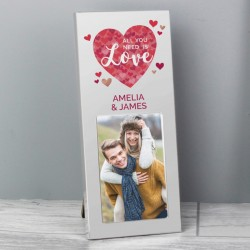 Personalised All You Need Is Love Frame