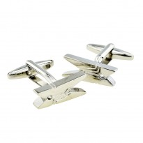 Clothes Peg Cufflinks
