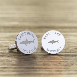 Daddy Shark Cufflinks