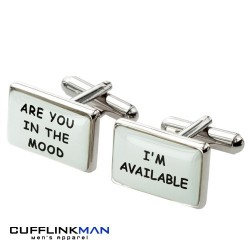 Cheeky In The Mood Cufflinks