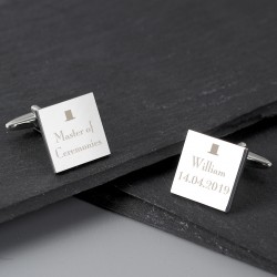 Top Hat Master of Ceremonies Cufflinks