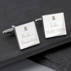 Brides StepFather Cufflinks