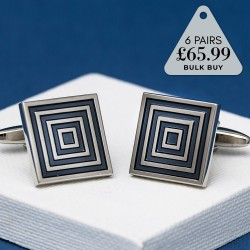 6 Pairs Cufflinks Offer Dimension