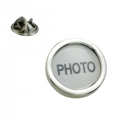 Photo Frames - Add your own! Lapel Pin