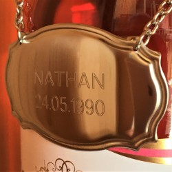 Personalised Bottle Label Tag