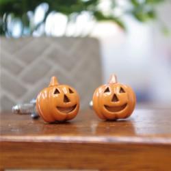 Halloween Pumpkin Cufflinks