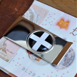 Cornish Flag Money Clip