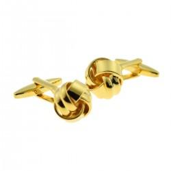 Fahrenheit - Gold Knot Cufflinks