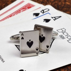 Ace of Spades Cufflinks