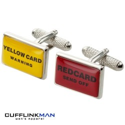 Ref Cards Cufflinks