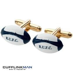 England R.U.F.C Rugby Ball Cufflinks