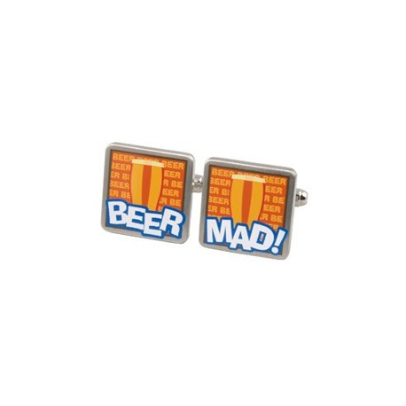 Beer Mad Cufflinks