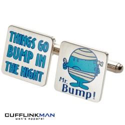 Mr Men 'Mr Bump' Cufflinks