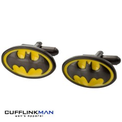 Batman Emblem Cufflinks