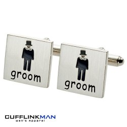 All About Weddings - Groom Cufflinks