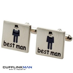 All about weddings - Best Man Cufflinks
