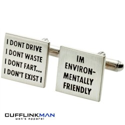 Environmentally Friendly Cufflinks
