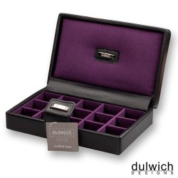 Deluxe Ebony & Amethyst Accessory Case
