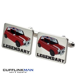 Legendary Mini Cooper Cufflinks