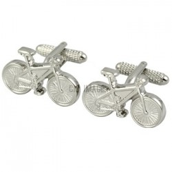 Pedal Powered Bicycle Cufflinks