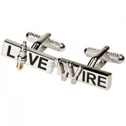 Live Wire Cufflinks