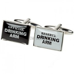 Appointed Drinking Arm Cufflinks