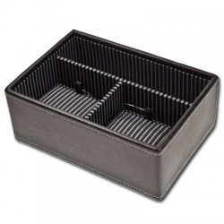 Stackers Black Watch & Cufflinks Tray