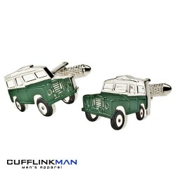 Land Rover - Dark Green Cufflinks
