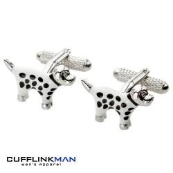 Spotted Dog Cufflinks
