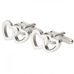 Entwined Hearts Cufflinks