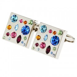 Andrew Worth -  Crystal Cufflinks