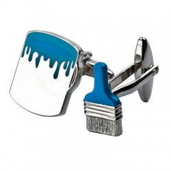 Brush and Paint Cufflinks