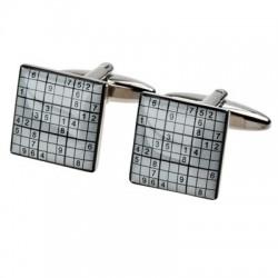 Sudoku Cufflinks