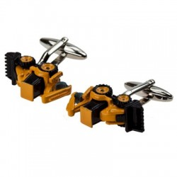 Yellow Digger Cufflinks