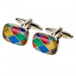 Harlequin Diamonds Cufflinks