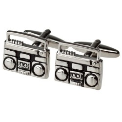 Boom Box Cufflinks - Ghetto Blaster Cufflinks