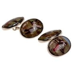 Picture Perfect Golf Cufflinks