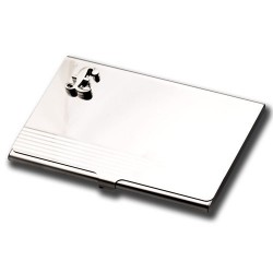 Business Card Holder - Pound Symbol