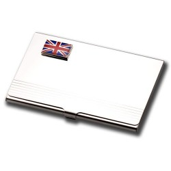Business Card Holder - Union Jack Flag